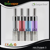 Dual coil glassomizer Mini Protank 3 atomizer with changeable coil head
