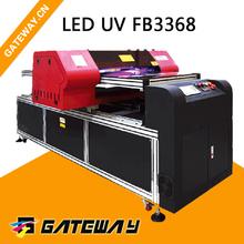 Acrylic office sign board printer inkjet uv printer for metal and pvc sheet printing