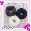 china wholesale professional black beige blonde hair bun pieces