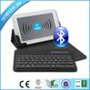 slide wireless bluetooth keyboard case wireless bluetooth Azerty keyboard