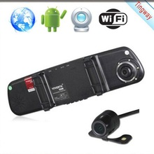 With Parking Sensor Gps Navigation System Rearview Mirror