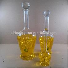 shoe shaped glass bottles/2l glass bottles/airtight glass bottle/