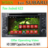 Android 4.2.2 subaru forester car multimedia with gps Bluetooth TV Radio wifi