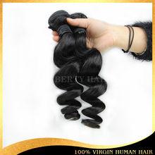 Brazilian loose wave no knots no shedding wholesale remy hair