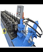 Hydraulic stud webs & flanges roll forming equipment from China