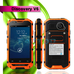 4 inch MTK6572 dual core Bluetooth dual SIM card Shockproof Discovery V6 Cheap mobile phone in china