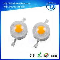 Epistar Bridgelux High Power LED Warm White 1 watt 2 watts 3 watts