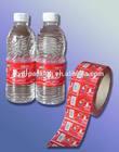 POF/PE Shrink Sleeve for Mineral Water Bottle / Water Shrink Label
