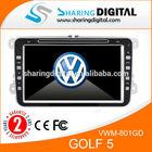 VWM-801GD Car DVD GPS Navigation For Volkswagen Golf 5 Car DVD player