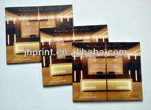 Directly factory with the best price printing 2014 lights glossy art paper brochures