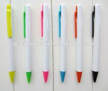 2014 Popular design best ball pen brands promotional plastic ball pen