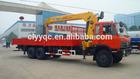 XCMG 10000kg Telescopic Boom Hydraulic mini crane for truck New !