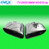 racing tuning universal exhaust muffler tip FOR BMW X5