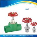 Baixo preço e alta qualidade PPR válvula de esfera