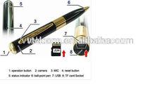 Mini DV Pen camcorder USB Pen DVR mini hidden pen camera