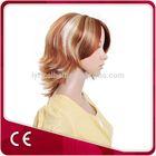 Synthetic Hair Piece Short Hair