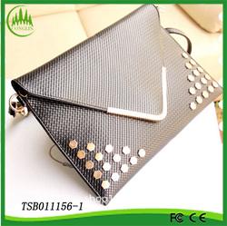Fashionable yiwu women china trendy envelope clutch bag