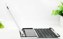 Solar energy aluminum bluetooth keyboard cover for ipad