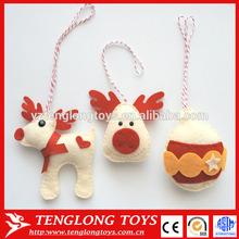 Christmas craft felt toy for christmas trees pendant