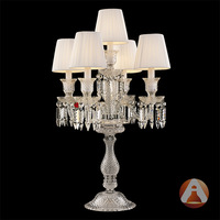 Baccarat Crystal Chandelier Table Lamp