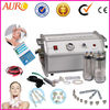 Diamond microdermabrasion machine, crystal microdermabrasion skin peeling, diamond crystal skin cleaner salon equipment Au-8304A