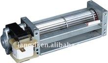 low noise cross flow fan/blower with AC/DC motor