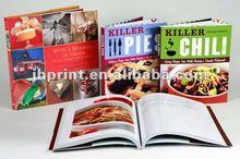Alibaba fornecedor de ouro livro de capa dura de impressão na China