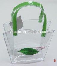 pvc fashionable handbag for lady, beach bag