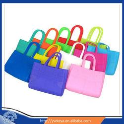 2014 Latest design fashion silicone shopping bag/rubber silicone handbags
