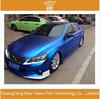 New Styling 1.52X20m Full Body Car Sticker Vinyl Car Wrap Blue Chrome Matte Film