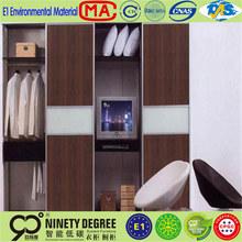 Newly designed code lock indian bedroom 3 door steel wardrobe cabinet