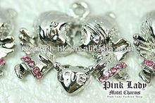 H157 MONNEL 2015 Best Selling Little Angel with Heart Love Jewelry Pendant
