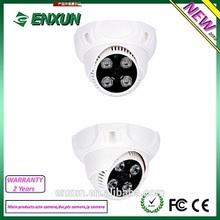Enxun Hotsell 800TVL cheap Plastic Dome CCD ir cctv camera with IR-Cut