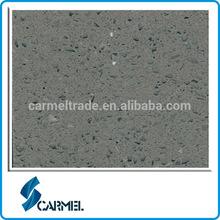 Hot sale small grain dark grey raw quartz stone