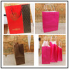 Luxury euro tote shopping gift paper bag