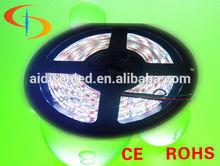 rgb/white led strip 5050 flexible rope light 12V 5m 300led 60/m waterproof IP65