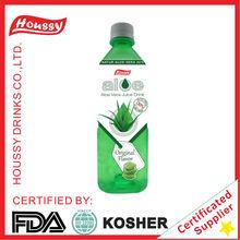 M1-Houssy aloe vera drink fruit juice in pet bottles