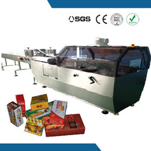 semi automatic flap double side gluing device for fancy soap box