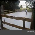 Hockey su ghiaccio pattinaggio/hdpe pista di ghiaccio sintetico/home pista di pattinaggio