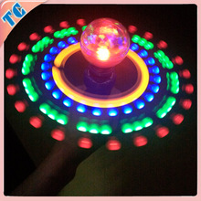 2014 New Hot selling shenzhen magic led light up spinners