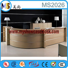 professional reception counter design with MDF