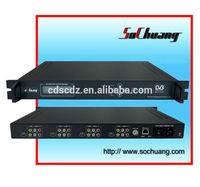 SC-5303 4-Channel mpeg2 mpeg4 h264 decoder/dvb asi decoder