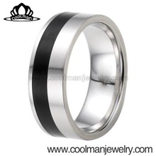 jewelry findings china gay men ring two-toned 316L stainless steel ring latest products in market