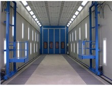 China good performance truck and bus spray booth from China in classic style