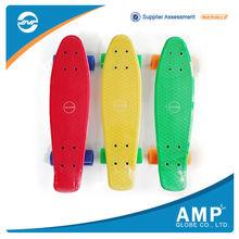 High Technology Any Color mini PP vinyl cruiser skateboard