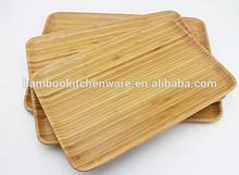Rettangolo multiunction piatti a base di bambù/piatti