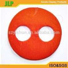 manufacture acrylic odd shaped holder circle acrylic