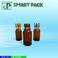 10ml 25ml 30ml óleo essencial garrafas de vidro âmbar fornecedor
