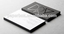 cotton paper letterpress logo name card