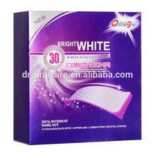 Wholesale - oral care teeth bleaching gel strips teeth whitening strips